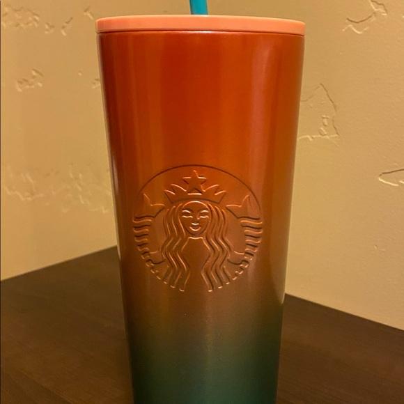 24 oz Starbucks Watermelon Ombré Tumbler